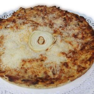 Torta Cipolle e Speck