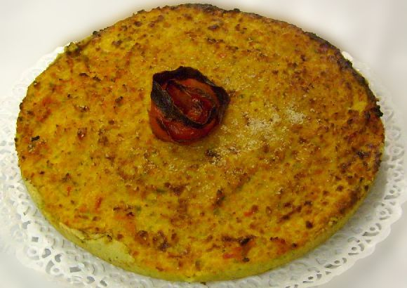 Torta Carote Peperoni